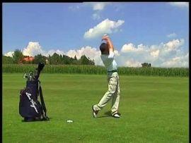 Besser golfen - Die teuflische rechte Schulter