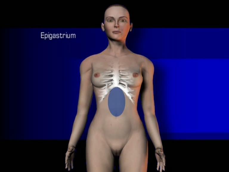 epigastrium
