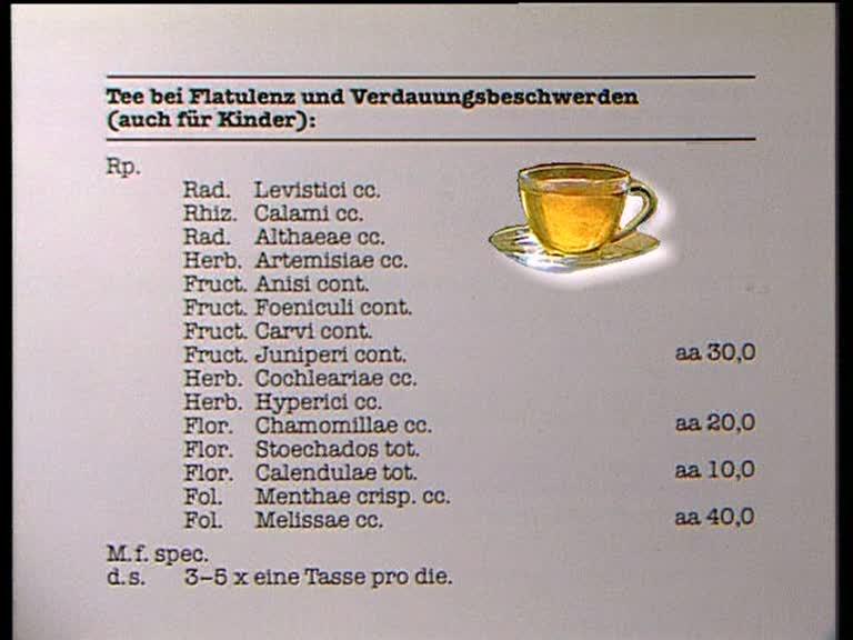 Verdauungsfördernder Tee